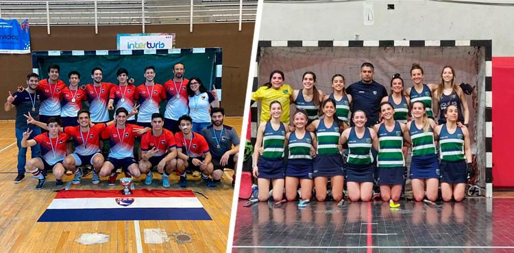 ARGENTINO DE CLUBES PISTA MAYORES: ¡COLEGIO DEL SUR y USHUAIA RUGBY CLUB, CAMPEONES!