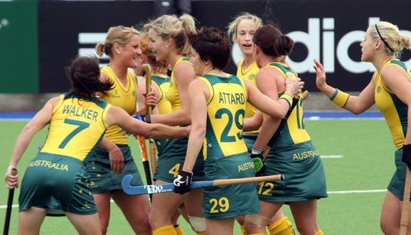 Show de goles en la victoria australiana
