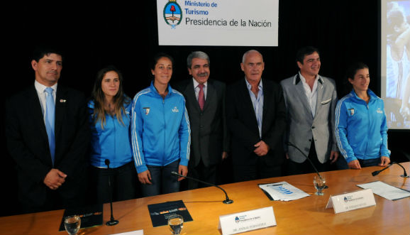 Presentación oficial de Liga Mundial en Buenos Aires