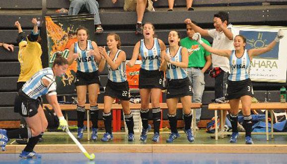 Argentina superó a Kazajstán y jugará por el 9° lugar