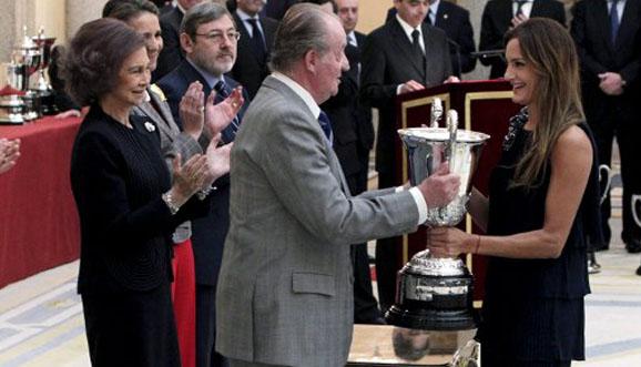 Aymar, Mejor Deportista Iberoamericana 2010