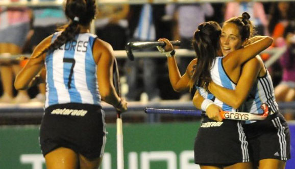 Aplastante triunfo de Argentina