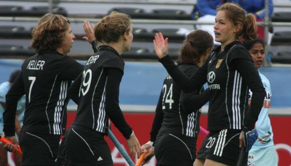 Alemania alcanzó los 9 puntos