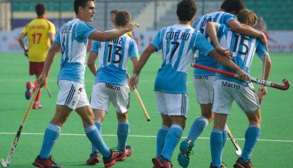 ARGENTINA-INDIA, POR EL NOVENO LUGAR EN EL MUNDIAL