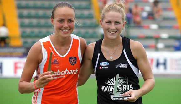 Maartje Paumen y Stacey Michelsen, las mejores de 2011