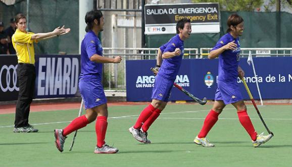 Japón terminó quinto en Quilmes