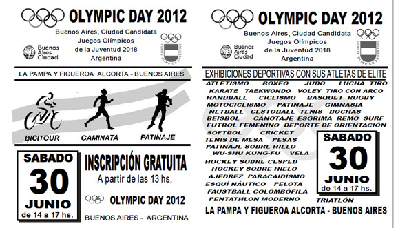 Olympic Day 2012