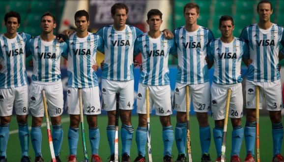 ARGENTINA, OCTAVA EN INDIA