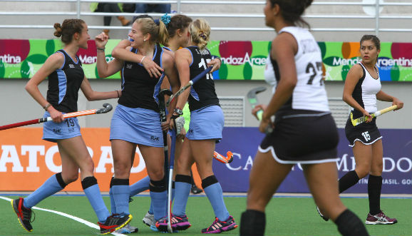Uruguay ganó y está segunda