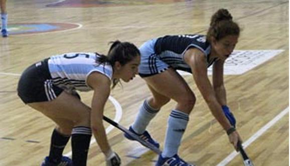 Torneo 4 Naciones Indoor de Hockey - Argentina Lider en Trelew