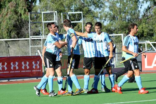 Goleada argentina en el debut