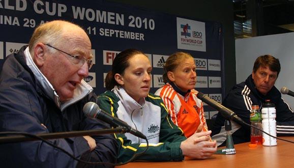Conferencia de prensa, Holanda 4-1 Australia