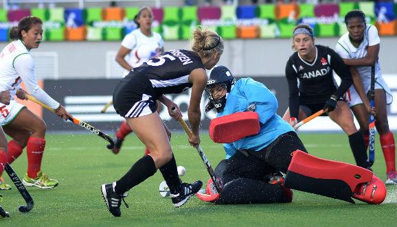 Canadá debutó con ocho goles en Mendoza