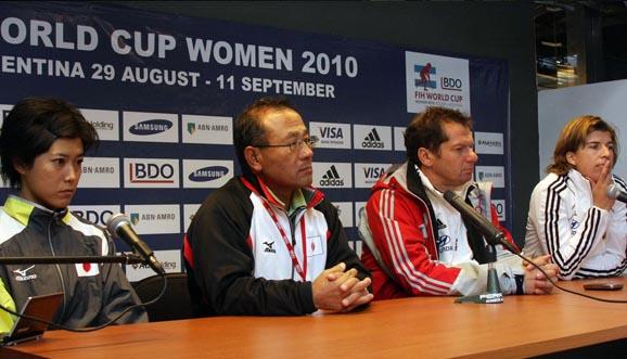 Conferencia de prensa, Alemania 2-1 Japón