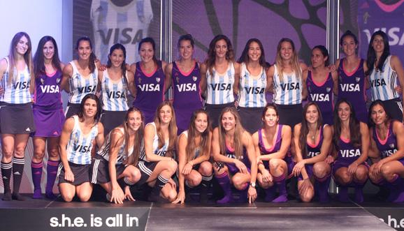 Adidas presentó la nueva camiseta de Las Leonas