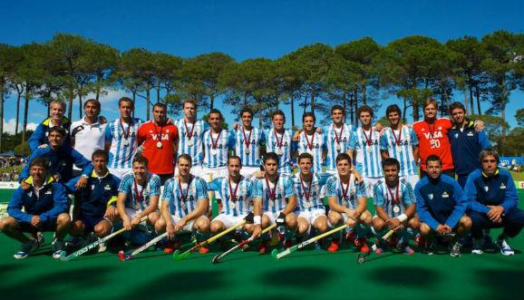 Argentina, medalla de plata en Australia
