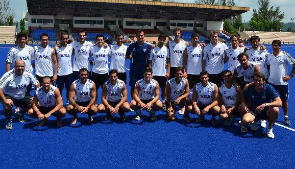 Los varones, a horas del debut en la Sultan Cup
