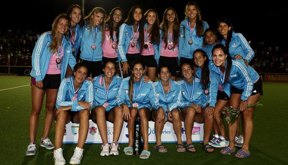 Las Leonas ganaron el bronce en Córdoba
