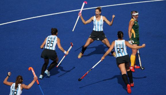 Histórico debut olímpico de Las Leonas