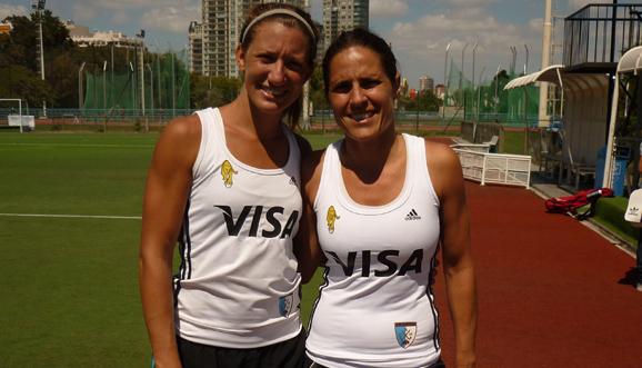 Con Russo y Margalot, entrenaron Las Leonas