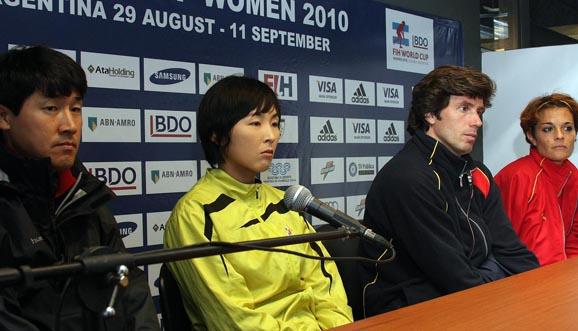 Conferencia de prensa, Corea 2-2 España
