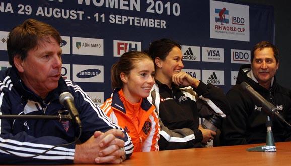 Conferencia de prensa, Holanda 7-3 Nueva Zelanda