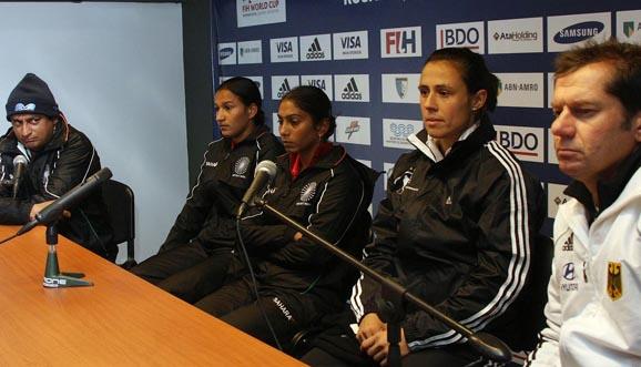 Conferencia de prensa, Alemania 4-1 India