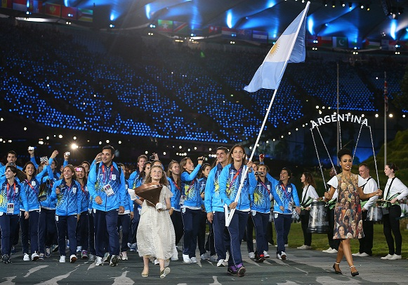 Inauguraron los Juegos Olímpicos: Aymar abanderada argentina