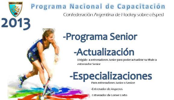 Programa Nacional de Capacitación 2013
