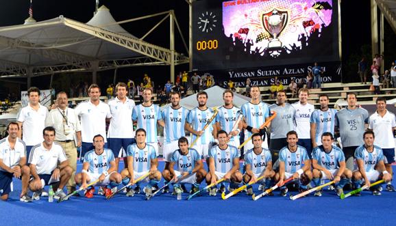 Medalla plateada para Argentina en Malasia