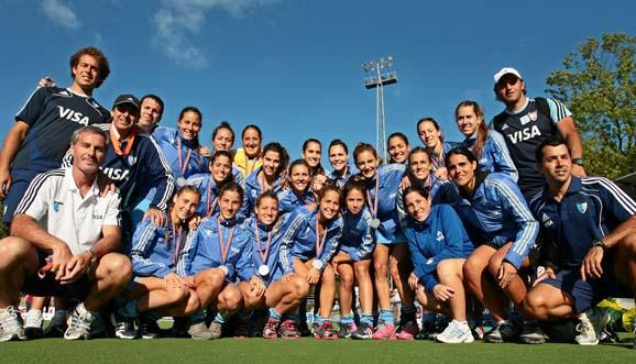 ¡Las Leonas, medalla de plata en el Champions!