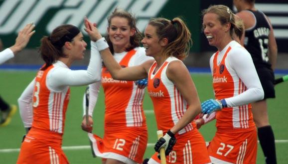 Nueva goleada de Holanda