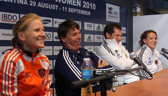 Conferencia de prensa, Holanda 2-1 Alemania