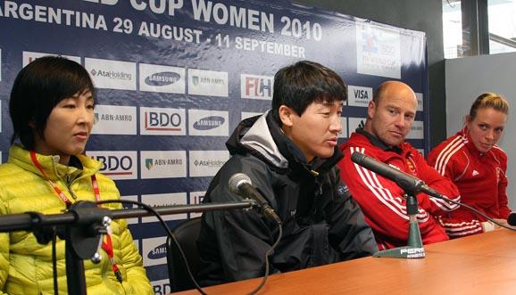 Conferencia de prensa, Inglaterra 1-1 Corea del Sur