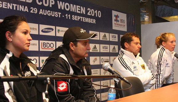 Conferencia de prensa, Alemania 2-0 Nueva Zelanda