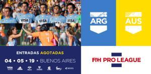 ARGENTINA - AUSTRALIA, CON ENTRADAS AGOTADAS