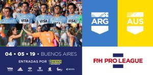 FIH PRO LEAGUE: ENTRADAS A LA VENTA PARA LA ULTIMA PRESENTACIÓN DE LOS SELECCIONADOS EN ARGENTINA