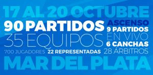 MAR DEL PLATA SE PREPARA PARA RECIBIR LOS ARGENTINO DE SELECCIONES MAYORES ASCENSO 'A' Y 'B' DAMAS Y CABALLEROS