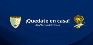 ¡LOS LEONES, TAMBIÉN SE QUEDAN EN CASA!