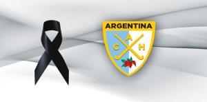DOLOR EN LA FAMILIA DEL HOCKEY ARGENTINO