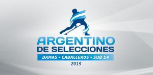 ARGENTINO DE SELECCIONES CABALLEROS Y DAMAS SUB 14