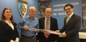 LA CONFEDERACIÓN ARGENTINA APADRINA AL HOCKEY DE HONDURAS