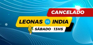 LEONAS - INDIA, CANCELADO