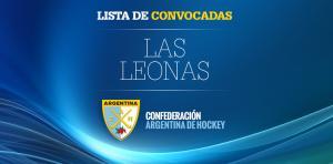 LAS LEONAS, LISTA DE CONVOCADAS