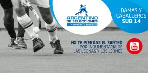 REVIVÍ LAS FINALES DEL CAMPEONATO ARGENTINO DE SELECCIONES SUB 14 2019