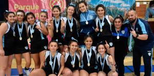 ARGENTINO DE CLUBES DAMAS SUB 16 PISTA: ¡HISPANO AMERICANO, CAMPEÓN!